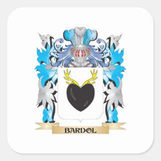 Bardol Coat of Arms Square Sticker