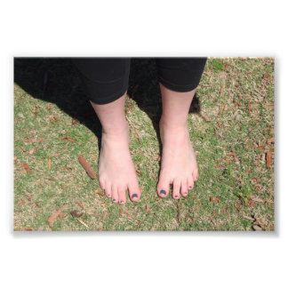 Barefoot Outdoors Photo Print
