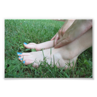 Barefoot Relaxation Photo Print