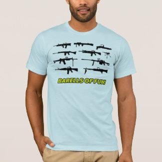 Barells of Fun- Gun design T-Shirt