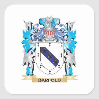 Barfold Coat of Arms Stickers