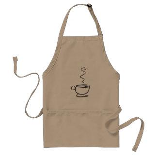 Barista Uniform Coffee Cup Standard Apron