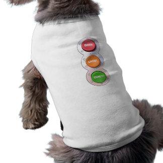 BARK GROWL QUIET! in colour Shirt