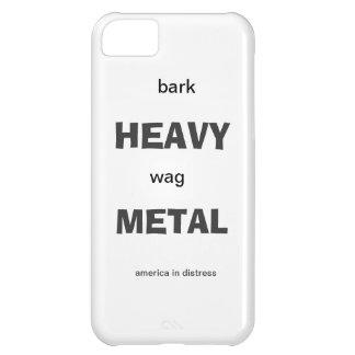 bark heavy wag metal iPhone 5C case