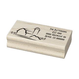 Barn Address stamp