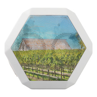 Barn in a Vineyard in Napa Valley California White Bluetooth Speaker