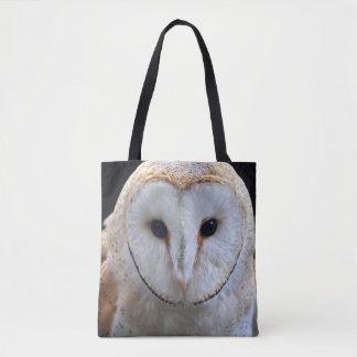 Barn Owl All Over Print Bag