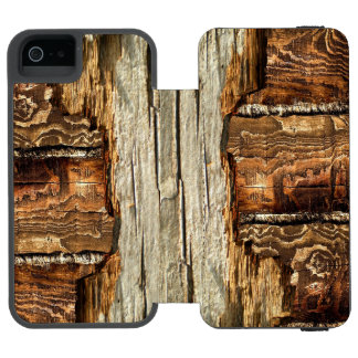 Barn Wood Incipio Watson™ iPhone 5 Wallet Case