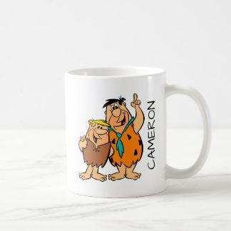 Barney Rubble and Fred Flintstone Coffee Mug