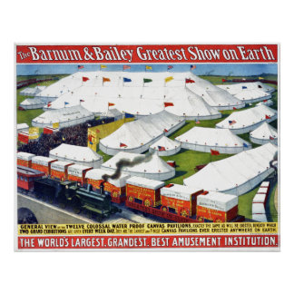 Barnum and Bailey Circus 1899 Poster