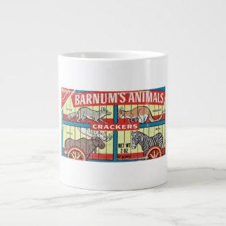 Barnum's Animal Crackers Shabby Chic Jumbo Mug! Jumbo Mug
