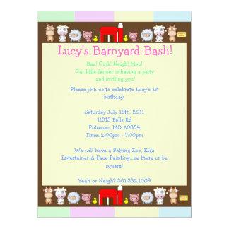 Barnyard Bash! Invites