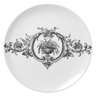 Baroque Basket Plate