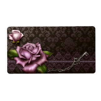 Baroque Rose Apothecary Label Shipping Label