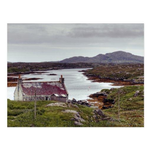 Barra Island Outer Hebrides Post Card