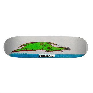 barracuda board custom skate board