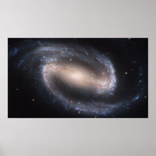 Barred Spiral Galaxy NGC 1300 Print