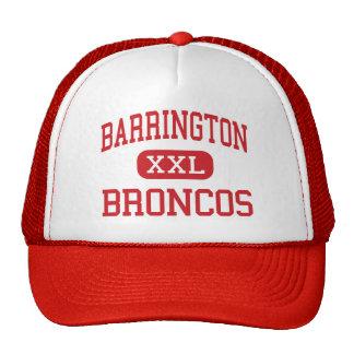 Barrington - Broncos - High - Barrington Illinois Trucker Hat