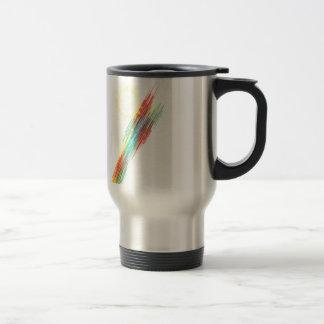 Bars Stainless Steel Travel Mug