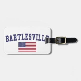 Bartlesville US Flag Luggage Tag