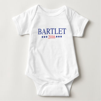 Bartlet 2016 - Blue Baby Bodysuit