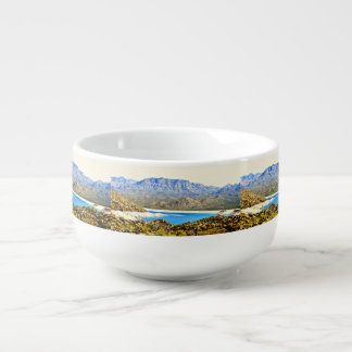 Bartlett Lake Soup Bowl Soup Bowl With Handle