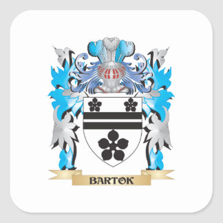 Bartok Coat of Arms Stickers