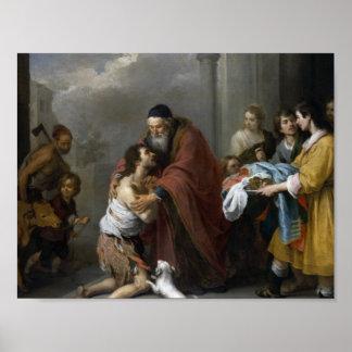 Bartolome Esteban Murillo-Return of the Prodigal Poster