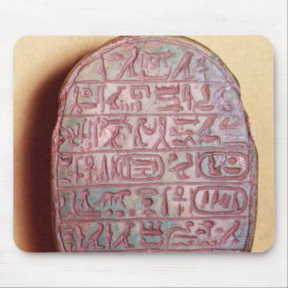 Base of a marriage scarab of Amenhotep III Mouse Pad