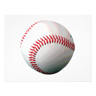 Baseball Ball 21.5 Cm X 28 Cm Flyer