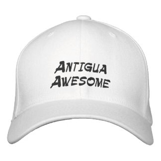 Baseball Cap with Cool Antigua Quote