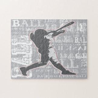 Baseball Design Jigsaw Puzzle