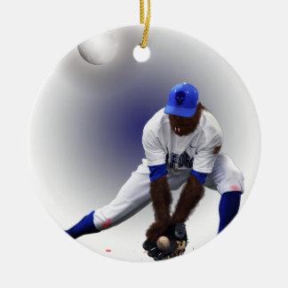 Baseball Monster Wolf Animal Christmas Ornament