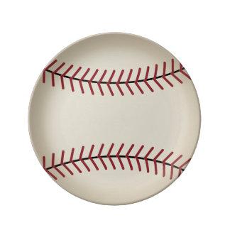 Baseball Plate Porcelain Plates