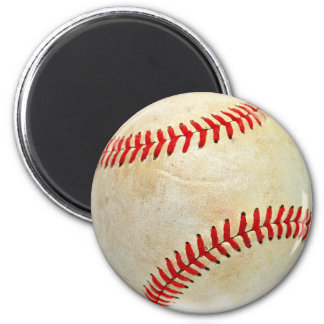 Baseball sport ball game play dirty old magnet