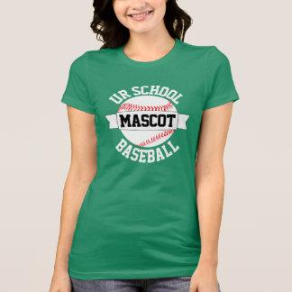 Baseball Team/School Name & Mascot Women's T-shirt