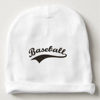 Baseball Typography Baby Beanie