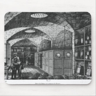 Basement of the Bank of France in Paris, 1897 Mouse Pad