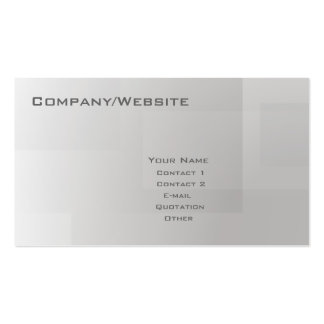 Basic 10 pack of standard business cards