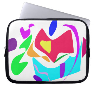 Basic Abstract Computer Sleeve