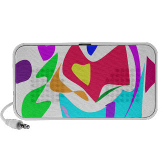 Basic Abstract iPhone Speaker