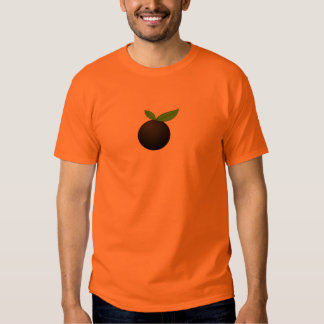 Basic Black Orange Shirt