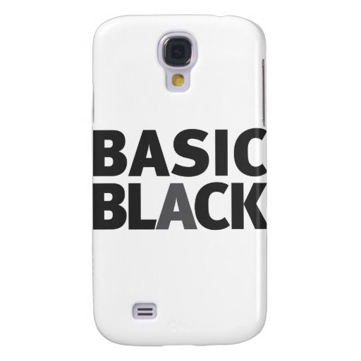Basic Black Series Samsung Galaxy S4 Cover