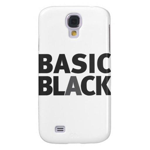Basic Black Series Samsung Galaxy S4 Cover