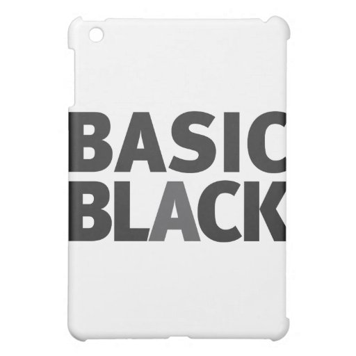 Basic Black Series iPad Mini Covers