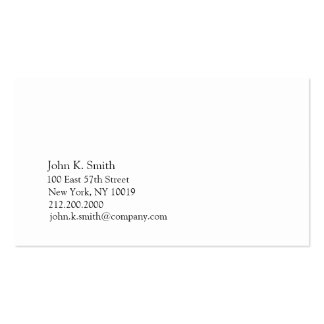 Basic Blue II Business Card Template