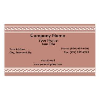 Basic border business card templates