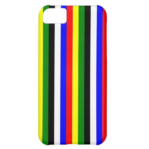 Basic Colors Stripe iPhone 5C Case