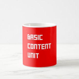 Basic Content Mug - Man Machine Edition
