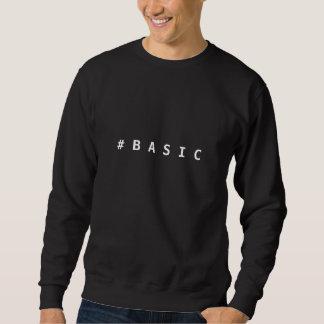 #basic crewneck pull over sweatshirt